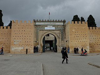 Kasbah Cherarda building in Morocco
