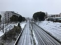 Kashii Line and Kagoshima Main Line near Kyushu Sangyo University 20180206-2.jpg