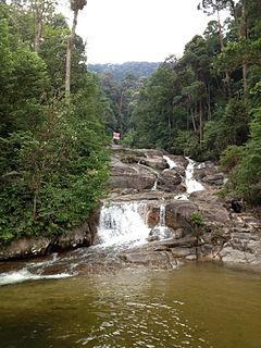Mount Ophir Mountain in Johor, Malaysia