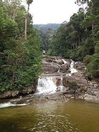 Mount Ophir - Waterfall on Gunung Ledang