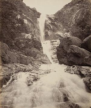 Katary Falls - Image: Katary Falls (Kattery Falls) from Below