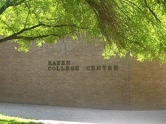 Abraham Kazen - The Kazen College Center on the Laredo Community College campus