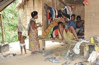 Batek people - Image: Keluarga suku Bateq 167