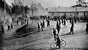 1949 Kemi strike - Clash between police and protesters