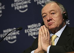 Ken Livingstone - World Economic Forum Annual Meeting Davos 2008.jpg