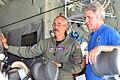Ken Valdez explains the inner workings of the Modular Airborne Fighting System to Michael McCaul.jpg