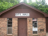 Kennard City Hall building (established 1978)