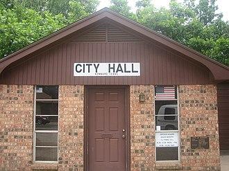 Kennard, Texas - Kennard City Hall building (established 1978)