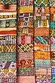 Kente (Batik) Cloth in Market - Kumasi - Ghana (4755541241).jpg