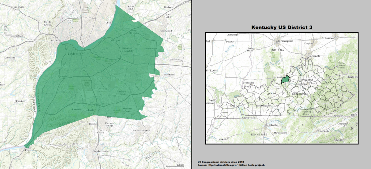 Kentucky S 3rd Congressional District Wikipedia