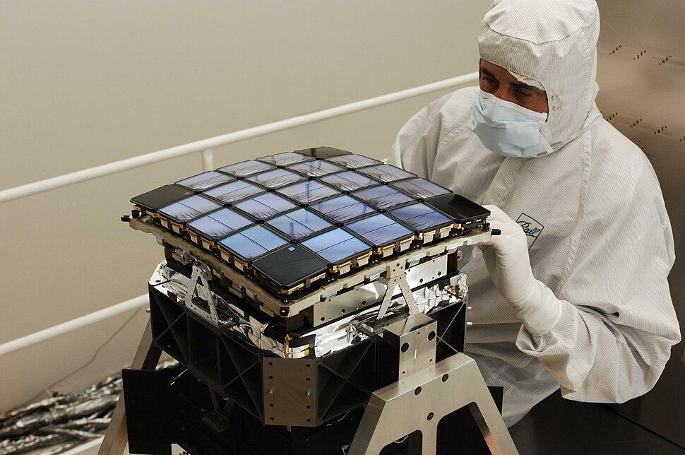 Kepler CCD matrix