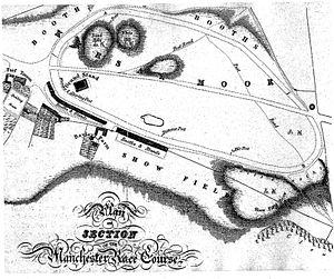 Kersal Moor - Manchester Racecourse on Kersal Moor