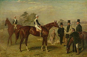 Kettledrum (horse) - Painting of Kettledrum by Harry Hall