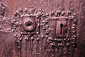 Keyholes at Garmo stave church, Norway.jpg