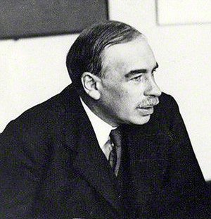 Animal spirits (Keynes) - John Maynard Keynes in 1933