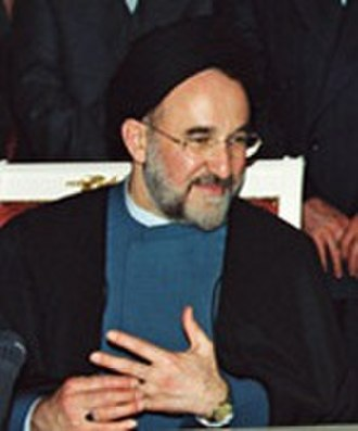 Iranian presidential election, 1997 - Image: Khatami Cropped 2001 1
