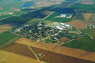 Gat, Israel - Image: Kibbutz Gat Aerial View
