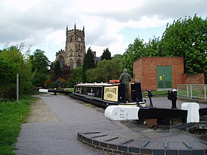 Staffordshire and Worcestershire Canal - Kidderminster Lock on the Staffordshire and Worcestershire Canal