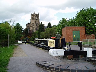 Staffordshire and Worcestershire Canal canal in the West Midlands, England