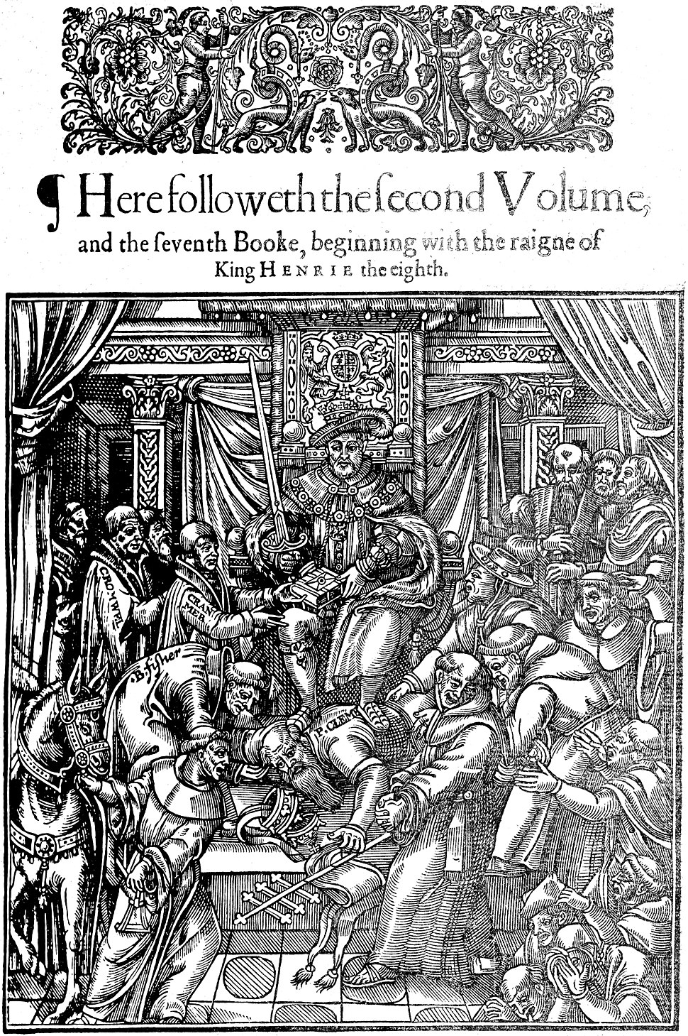 King Henry VIII of England and Pope Clement VII