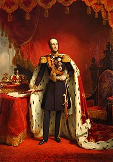 William II of the Netherlands King of the Netherlands and Grand Duke of Luxembourg 1840 - 1849