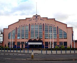King's Hall, Belfast - Exterior of main venue (c.2008)