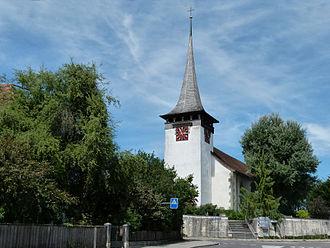 Jegenstorf - Image: Kirche Jegenstorf 1