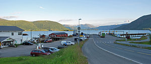 Kjøpsvik - Image: Kjøpsvik fergeleie