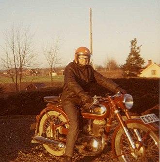 Triumph (TWN) - Min TWN från 1953 (1970-talet) /Kjell Alsetun
