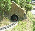 Kleine Sächsische Schweiz, Zug im Tunnel.jpg