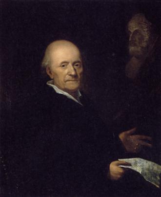 Friedrich Gottlieb Klopstock - Painting of Klopstock by M. E. Vogel