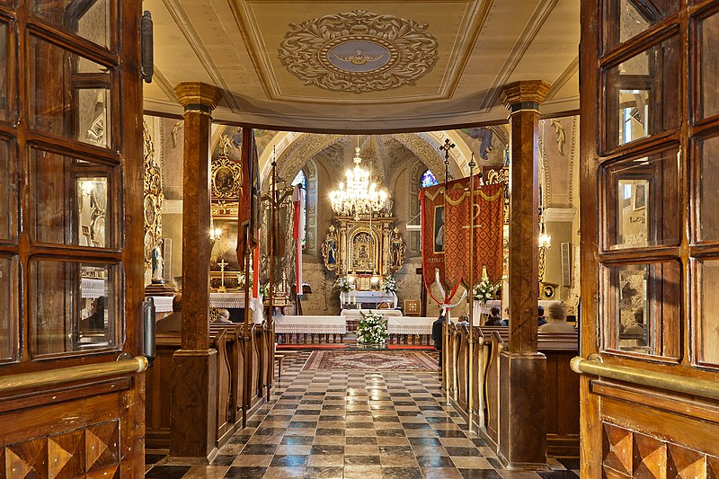 Wyróżnienie: Wnętrze kościoła parafii pw. Narodzenia św. Jana Chrzciciela w Korzkwi.