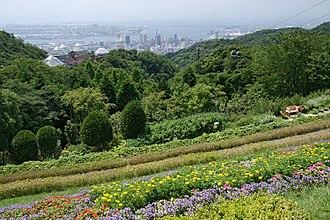 Chūō-ku, Kobe - Image: Kobe Nunobiki Herb Garden 09bs 3200