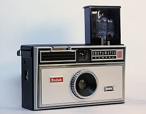 Instamatic - The Instamatic 100, the first Instamatic sold in the US