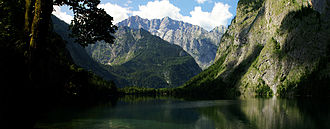Northern Limestone Alps - Königssee Obersee near Berchtesgaden
