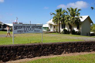 Honokaa, Hawaii - A church in Honokaa