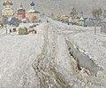 Konstantin Gorbatov - A Russian Town Under the Snow.jpg
