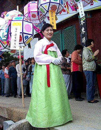 Hanbok - Jeogori and chima