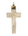 Kors av guld och pärlemo med Jesusrelief, 1800-tal - Hallwylska museet - 110367.tif