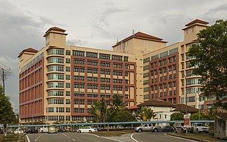 Queen Elizabeth Hospital, Kota Kinabalu - The building of Queen Elizabeth Hospital I.