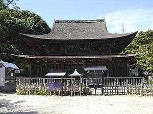 Zenshūyō - Kōzan-ji's butsuden in Shimonoseki