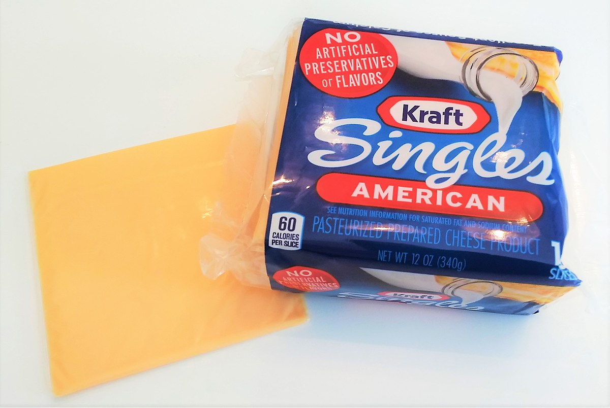 Kraft cheese squares for Cuisine kraft