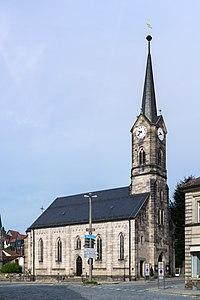 Kronach - Strauer Straße 12 - Christuskirche - 2013-08.jpg