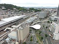 Kumamoto Station east square 20150524.jpg