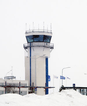 Kuopio Airport - The new Air Traffic Control tower