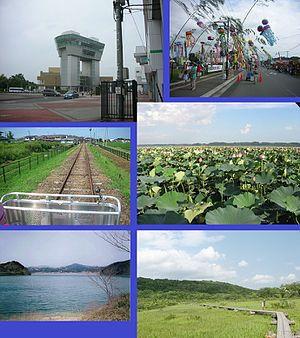 Kurihara, Miyagi - Kurihara-Kogen Station, Tanabata, Kuriden Rail Park, Lotus flowers, Hanayama Dam, Kurikoma QNP
