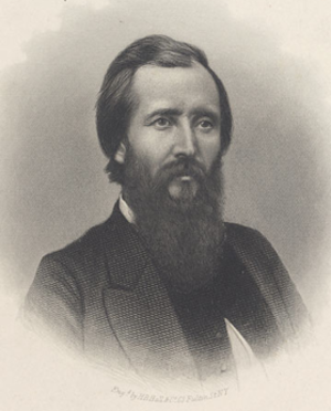 Lionel Allen Sheldon - Lionel Allen Sheldon. Engraving by H.B. Hall