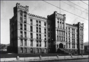 LDS Hospital - Image: LDS Hospital past 1