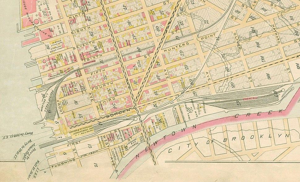 LIRR 1891 Long Island City
