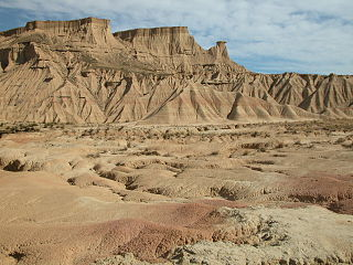 Bardenas Reales protected area